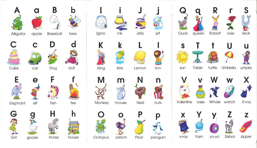 すべての講義 3歳 教材 : School Zone Alphabet Flash Cards